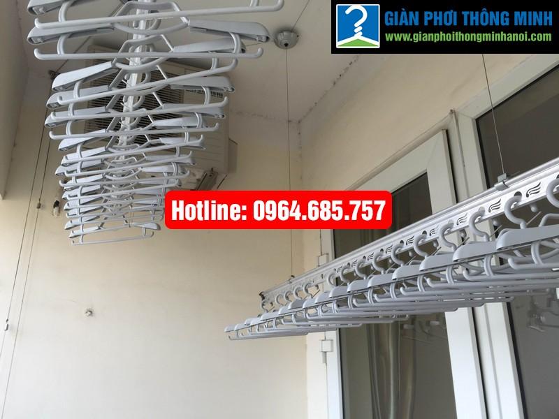 Lắp giàn phơi nhập khẩu Thái Lan nhà anh Trình P803 tòa 29 T2 Hoàng Đạo Thúy-01