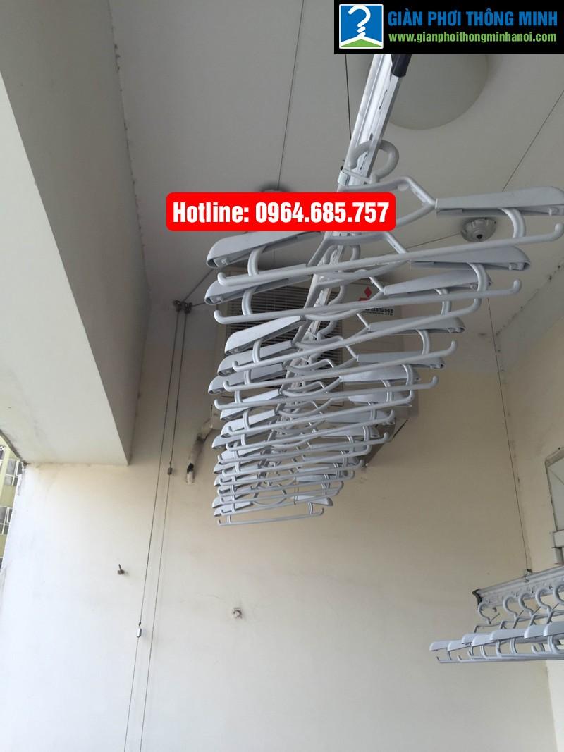 Lắp giàn phơi nhập khẩu Thái Lan nhà anh Trình P803 tòa 29 T2 Hoàng Đạo Thúy-03