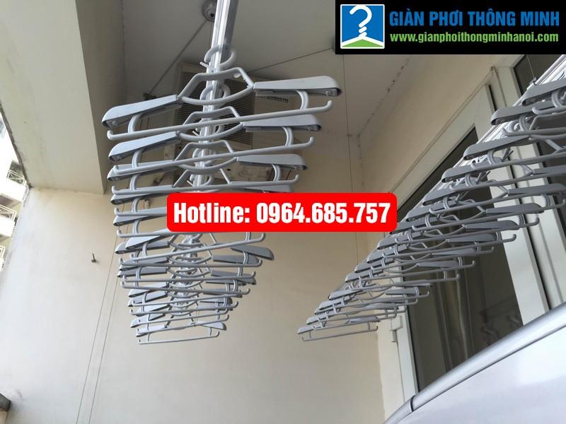 Lắp giàn phơi nhập khẩu Thái Lan nhà anh Trình P803 tòa 29 T2 Hoàng Đạo Thúy-07