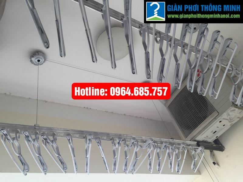 Lắp giàn phơi nhập khẩu Thái Lan nhà anh Trình P803 tòa 29 T2 Hoàng Đạo Thúy-08