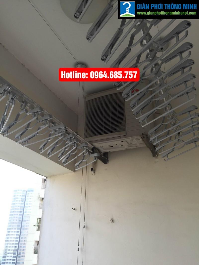 Lắp giàn phơi nhập khẩu Thái Lan nhà anh Trình P803 tòa 29 T2 Hoàng Đạo Thúy-09