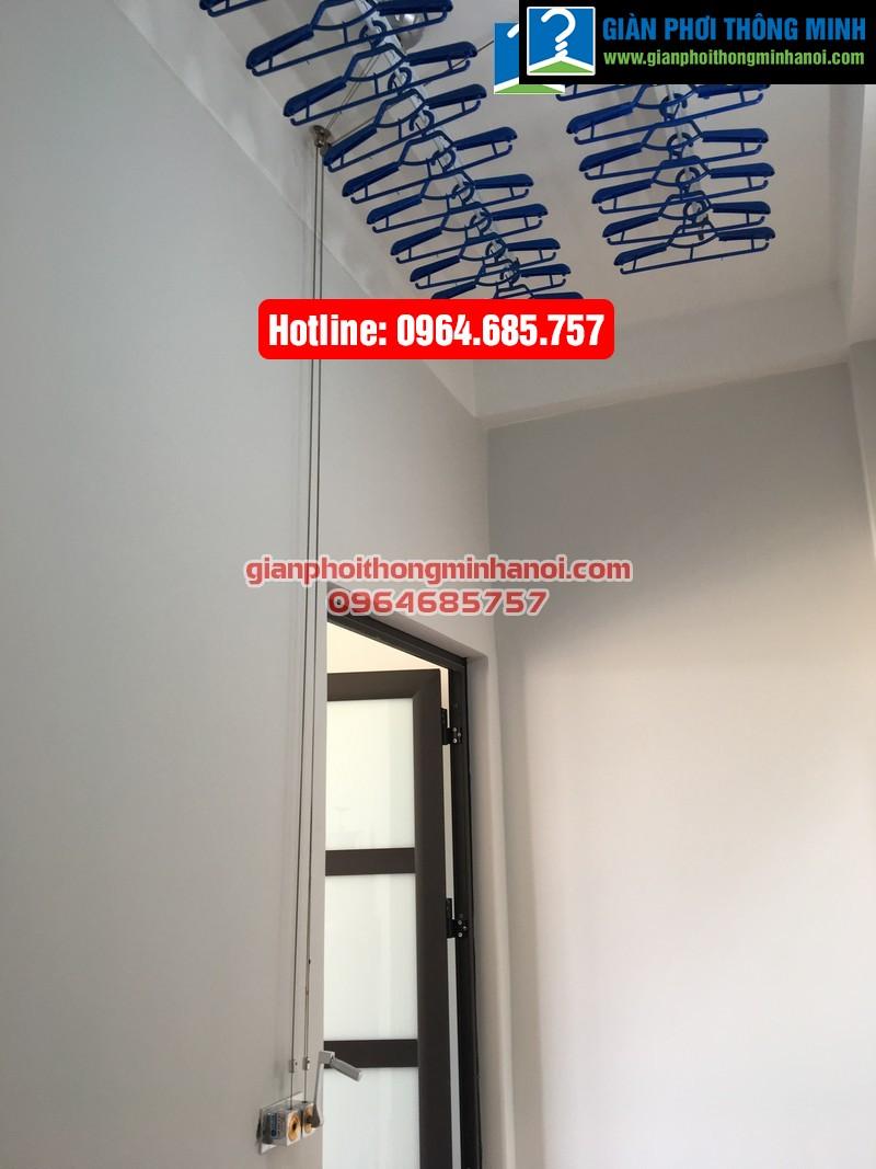 Lắp giàn phơi thông minh nhập khẩu cho nhà chị Hà phường Yên Nghĩa, quận Hà Đông-05