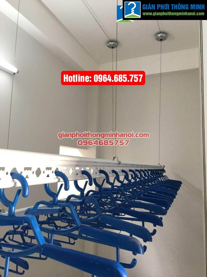 Lắp giàn phơi thông minh nhập khẩu cho nhà chị Hà phường Yên Nghĩa, quận Hà Đông-06