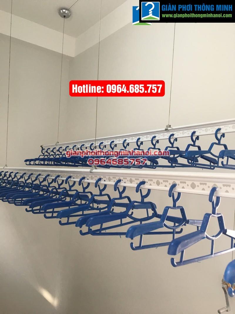 Lắp giàn phơi thông minh nhập khẩu cho nhà chị Hà phường Yên Nghĩa, quận Hà Đông-07
