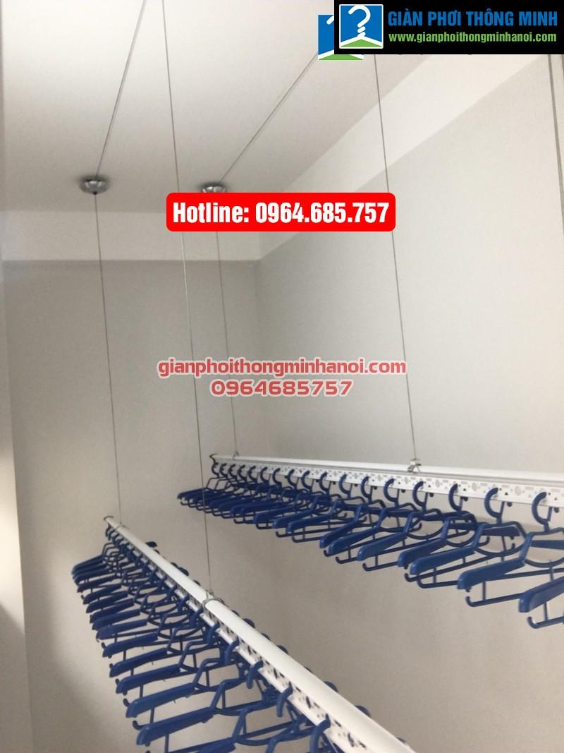 Lắp giàn phơi thông minh nhập khẩu cho nhà chị Hà phường Yên Nghĩa, quận Hà Đông-09