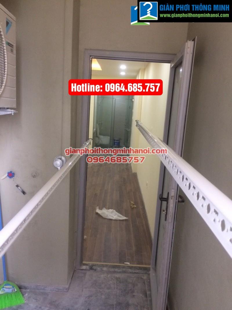Lắp giàn phơi thông minh Hòa Phát Air cho nhà anh Tài chung cư Thăng Long No 1-09