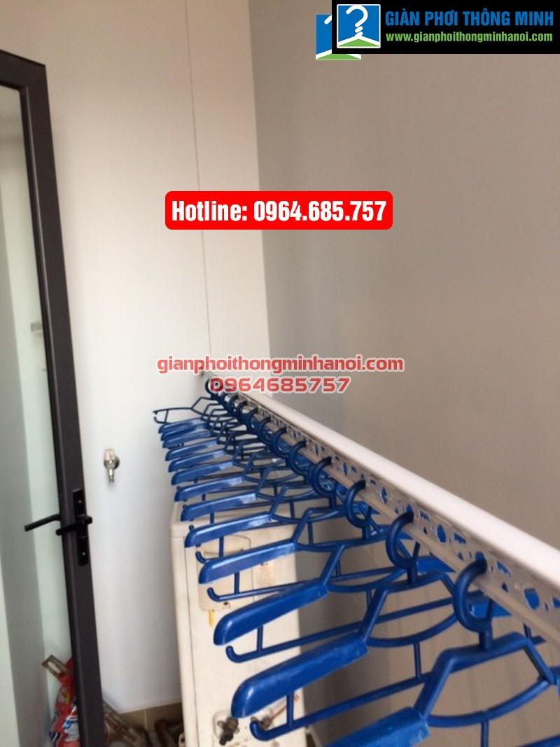 Lắp giàn phơi thông minh Hàn Quốc cho nhà chị Hảo chung cư Thăng Long Number One-03