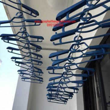 Lắp giàn phơi thông minh Hoà Phát AIR nhà chị Hoa P1112 b Tòa T10 Times City