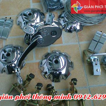 Hà Nội: Đội thợ cung cấp dịch vụ sửa giàn phơi thông minh