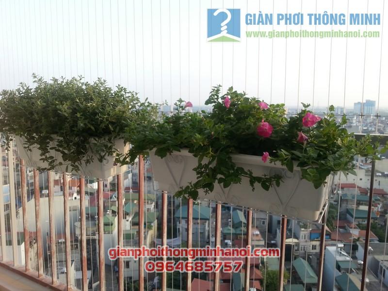 Lắp giàn phơi Hoà Phát AIR nhà chị Lan Anh tại Thanh Xuân, Hà Nội 01