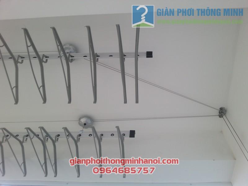 Lắp giàn phơi Hoà Phát AIR nhà chị Lan Anh tại Thanh Xuân, Hà Nội 03