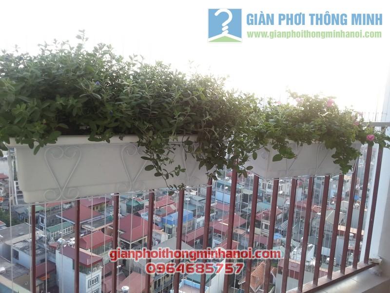 Lắp giàn phơi thông minh Hoà Phát AIR nhà chị Lan Anh tại Thanh Xuân, Hà Nội 05