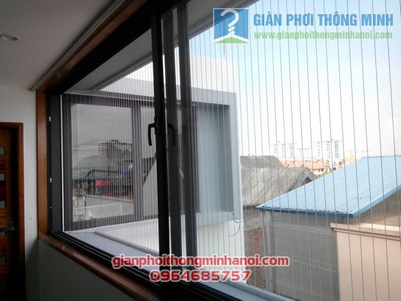 Lưới an toàn cửa sổ chung cư, nhà dân 01