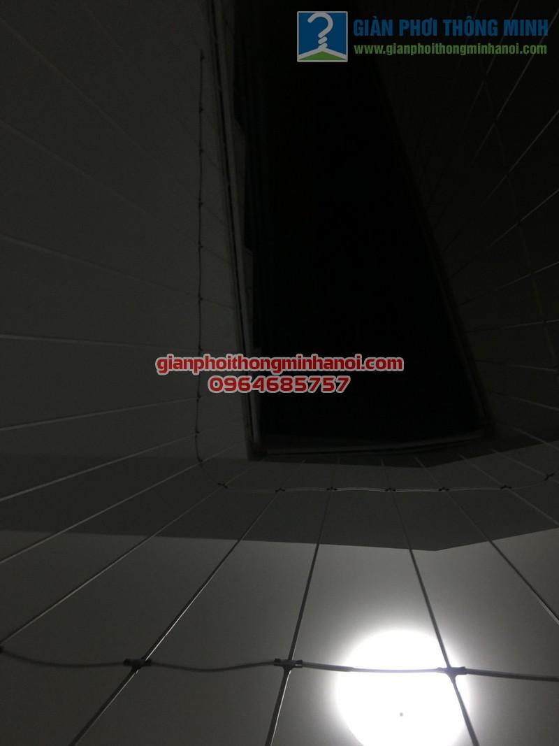 Lưới an toàn cầu thang bộ 02