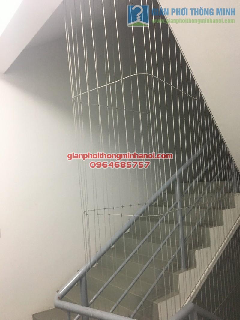 Lưới an toàn cầu thang bộ 04