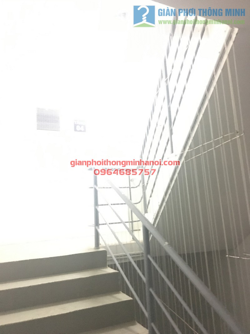 Lưới an toàn cầu thang bộ 05
