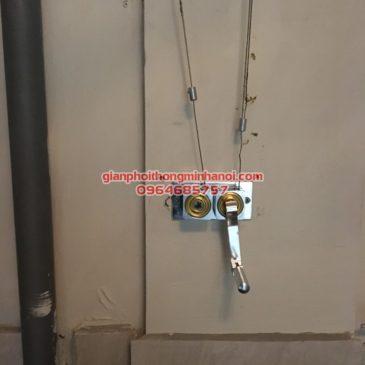 Sửa giàn phơi thông minh cho nhà anh Dũng CT5 Định Công