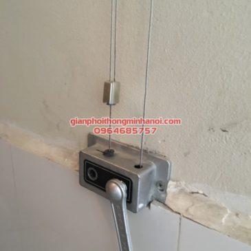 Sửa giàn phơi thông minh cho nhà chị Linh CT 10B khu đô thị Đại Thanh