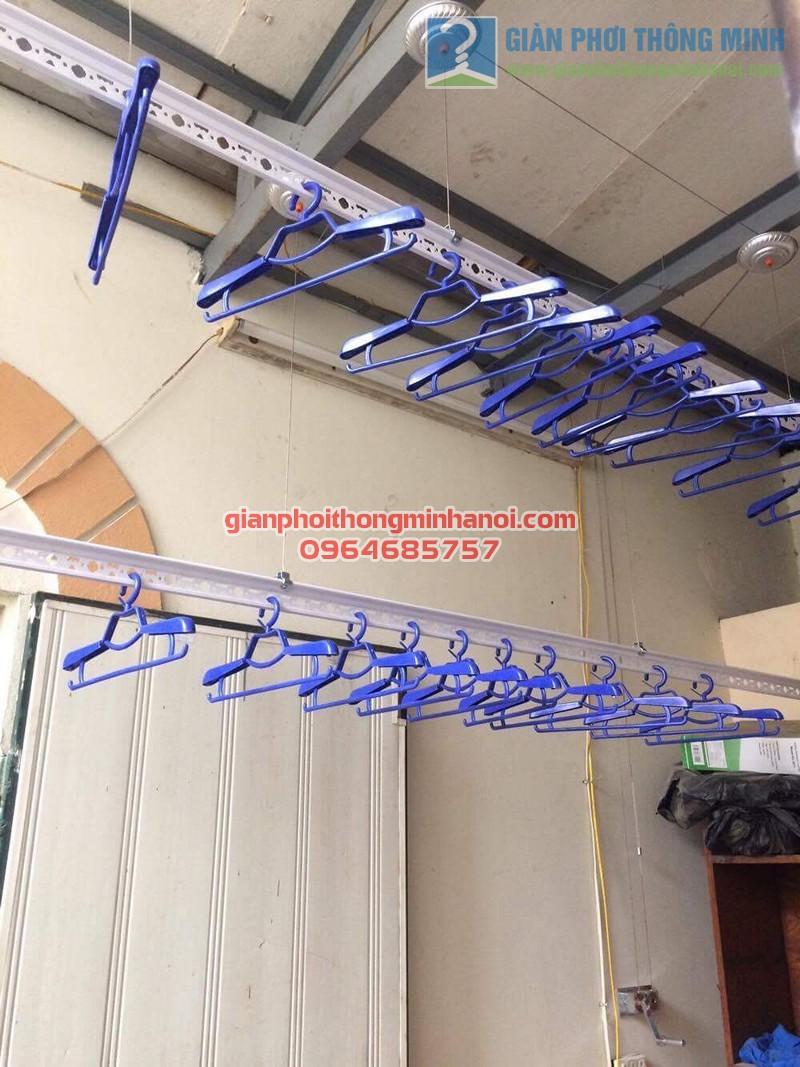 Hoàn thiện lắp đặt giàn phơi nhập khẩu Thái Lan nhà anh Trọng, số 15 Vạn Bảo - 05