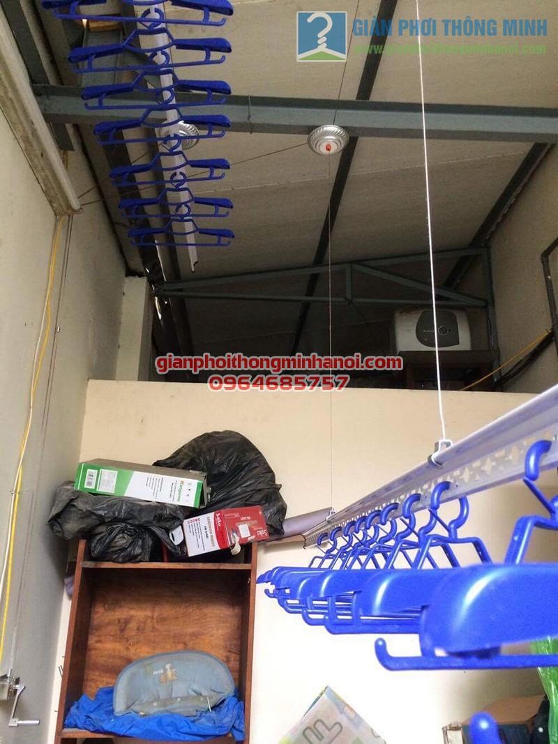 Hoàn thiện lắp đặt giàn phơi nhập khẩu Thái Lan nhà anh Trọng, số 15 Vạn Bảo - 04