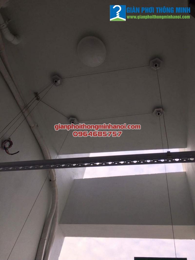 Lắp giàn phơi Hoà Phát Star cho nhà chị Thúy 24T2 khu đô thị Trung Hòa Nhân Chính