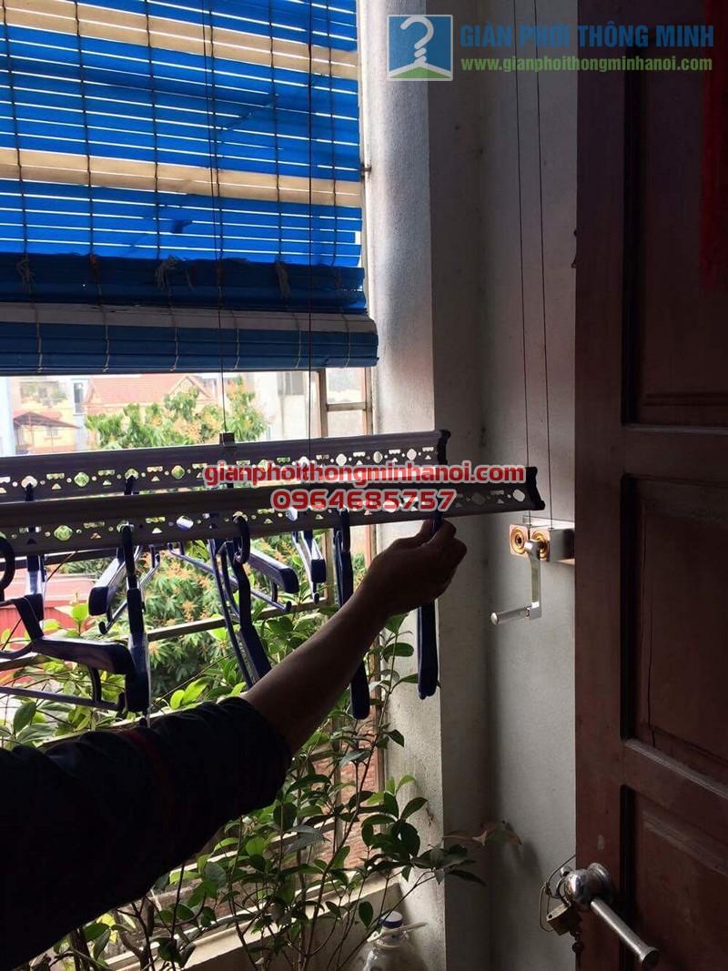 Hoàn thiện lắp đặt giàn phơi thông minh nhà anh Linh, Lê Đức Thọ - 06