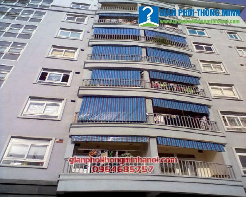 Lắp đặt bạt che nắng cho chung cư giá rẻ