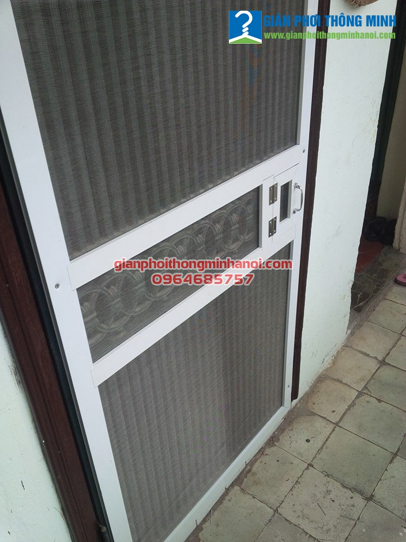 Lắp đặt cửa chống muỗi tại nhà nhanh gọn, giá rẻ
