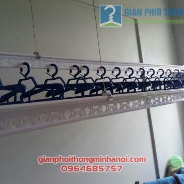 Lắp đặt giàn phơi đồ thông minh cho lô gia chung cư nhà anh Tuấn, quận Tân Bình, Tp.HCM