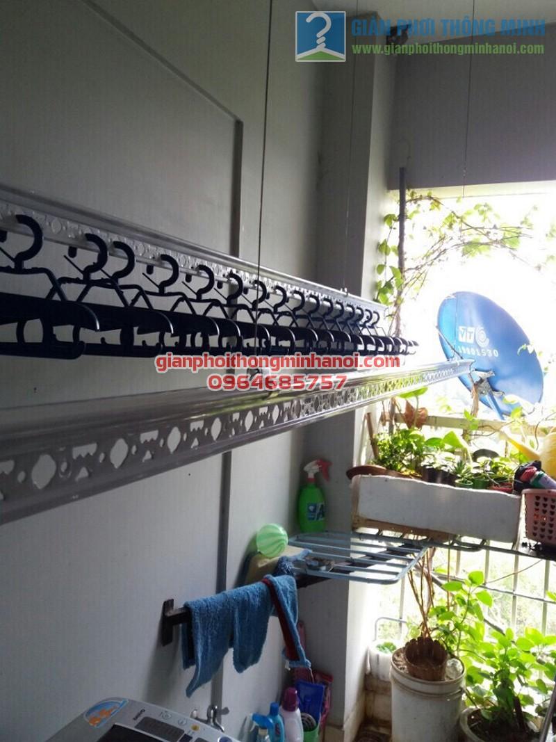 Lắp đặt giàn phơi thông minh cho lô gia chung cư nhà anh Tuấn, quận Tân Bình - 05