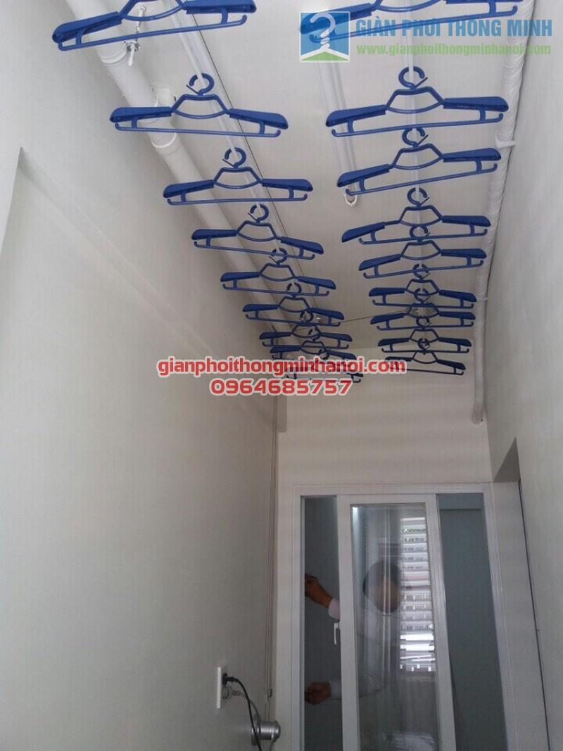 Lắp đặt giàn phơi đồ thông minh cho lô gia chung cư nhà anh Tuấn, quận Tân Bình - 02