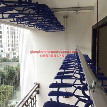 Lắp giàn phơi nhập khẩu Thái Lan cho nhà chị Hồng.P1505.T4 Times City