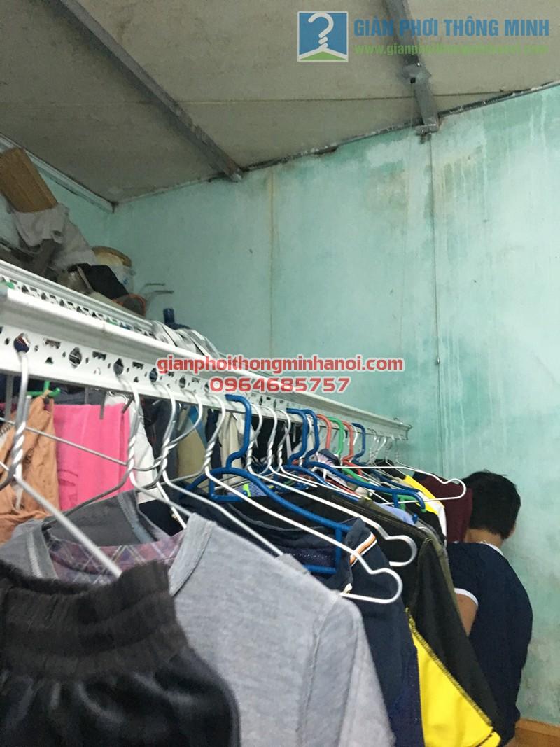 Lắp giàn phơi đồ nhà cấp 4 gia đình anh Minh, thị trấn Yên Viên