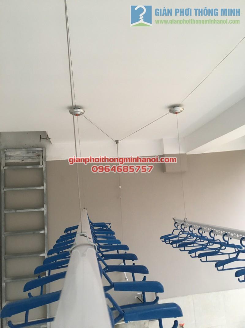 Hướng dẫn cách tự lắp đặt giàn phơi thông minh ở trần bê tông phẳng