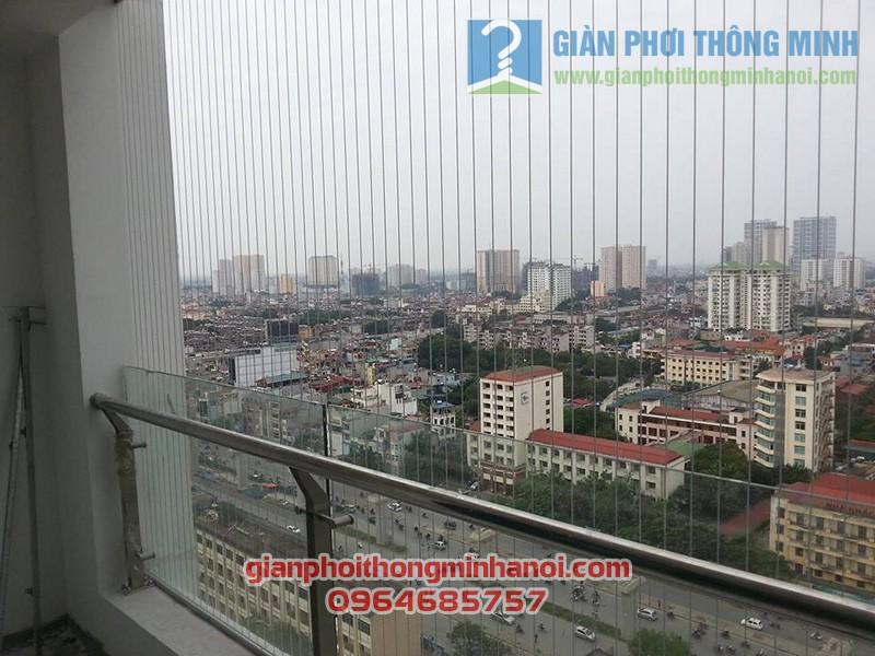 Báo giá làm lưới an toàn ban công nhà chung cư cao tầng trọn gói