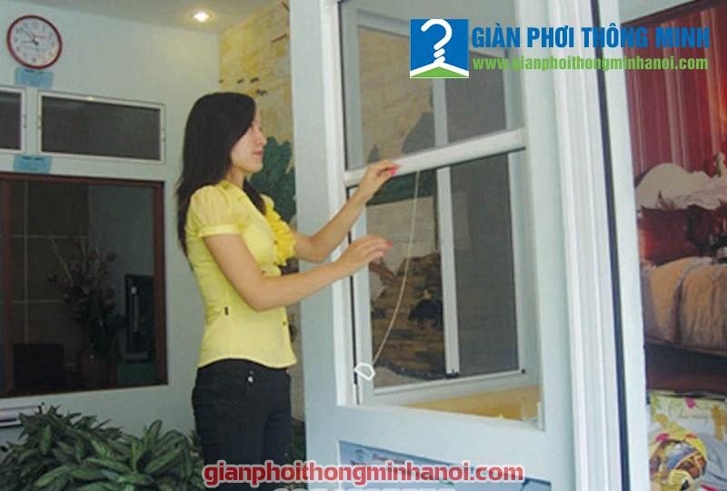 Đặc điểm cửa lưới chống muỗi tự cuốn, cửa lưới chống muỗi dạng xếp