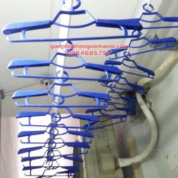 Lắp bộ giàn phơi nhập khẩu Singapore cao cấp nhà anh Tùng P1901 Topaz City quận 8