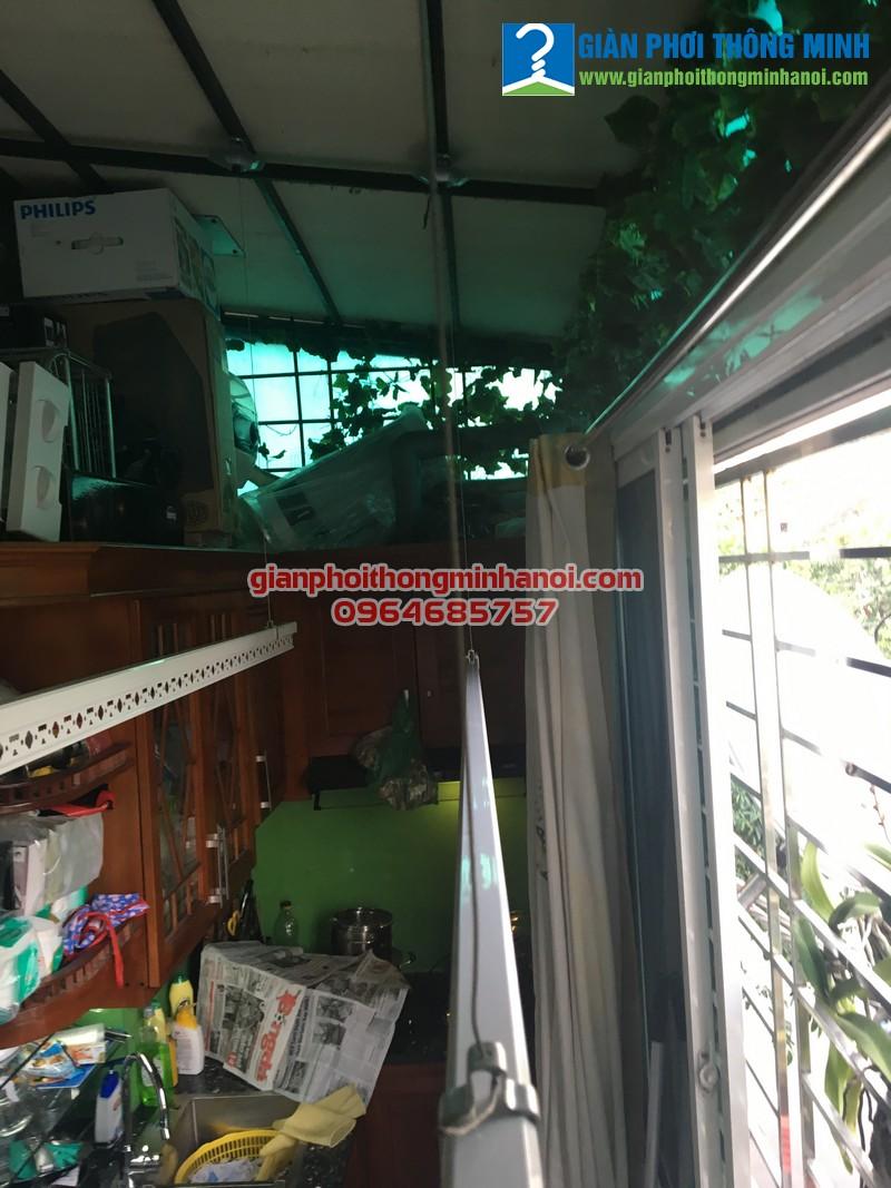 Lắp giàn phơi thông minh Ba Sao cho nhà chị Yến 26 Hàng Giấy, Đồng Xuân, Hoàn Kiếm