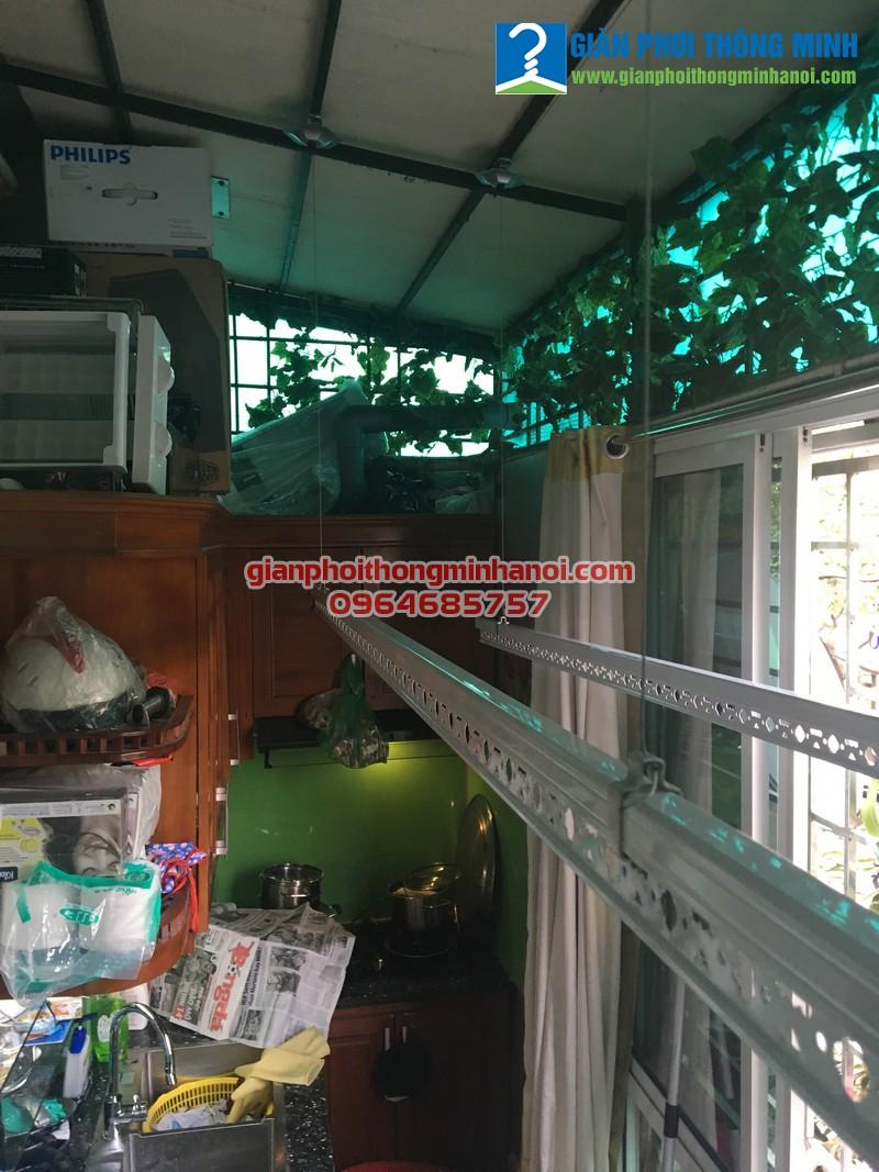 Lắp giàn phơi Ba Sao cho nhà chị Yến 26 Hàng Giấy, Đồng Xuân, Hoàn Kiếm