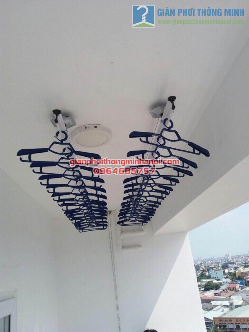 Địa chỉ lắp đặt giàn phơi quần áo chung cư giá rẻ, uy tín tại Hà Nội