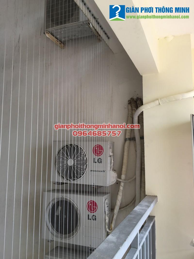 Lắp giàn phơi Hoà Phát AIR cho nhà chị Quỳnh. P1006. Tháp Đông. Làng Quốc Tế Thăng Long
