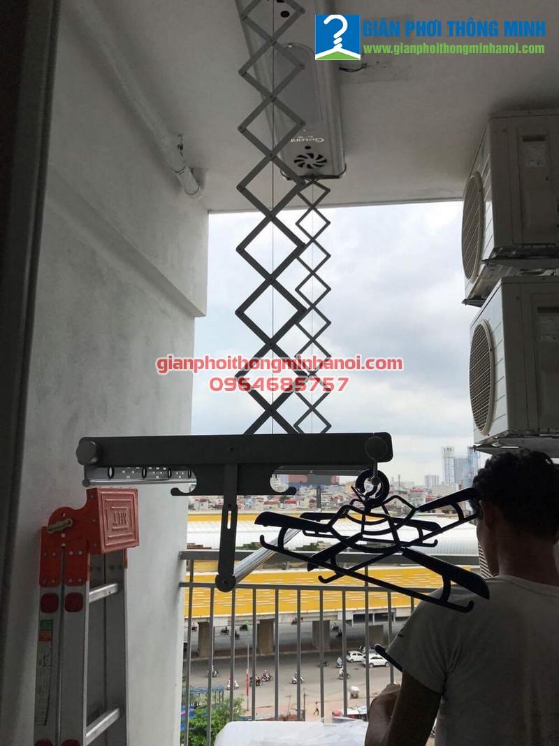 Lắp giàn phơi thông minh điều khiển từ xa tại Chính Kinh, Thanh Xuân, Hà Nội