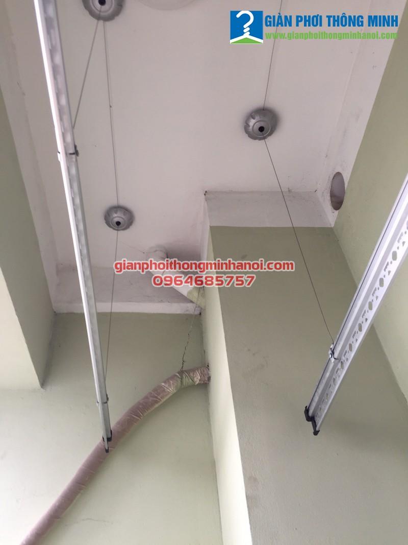 Lắp giàn phơi thông minh cho nhà chị Phương, P2004, T1A, Vinaconex 7, Hồ Tùng Mậu