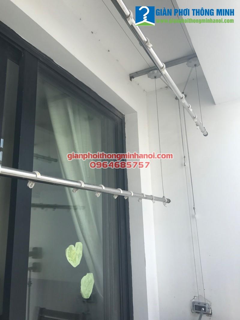 Thay củ quay cho giàn phơi Duy Lợi nhà chị Thu, CT2 Yên Nghĩa, Hà Đông