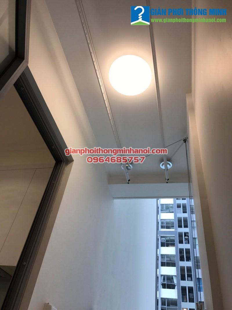 Hoàn thiện lắp đặt bộ giàn phơi Hoà Phát AIR cho nhà chị Hà, P1511, Park 10, Park Hill Time City