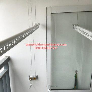 Hoàn tất lắp đặt giàn phơi Duy Lợi cho nhà anh Điềm, P1903, chung cư 30 Phạm Văn Đồng