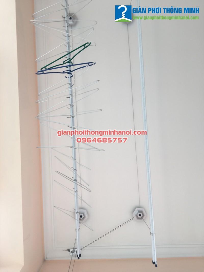 Lắp giàn phơi quần áo cho nhà chị Thu 100/197 Trần Phú, Hà Đông