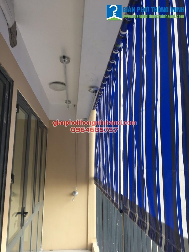 Lắp giàn phơi đồ thông minh cho nhà anh Đại, P1015, CT36 Định Công