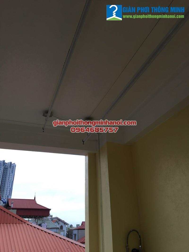 Lắp giàn phơi đồ thông minh cho nhà chị Thúy số 102, ngõ 197 Trần Phú, Hà Đông