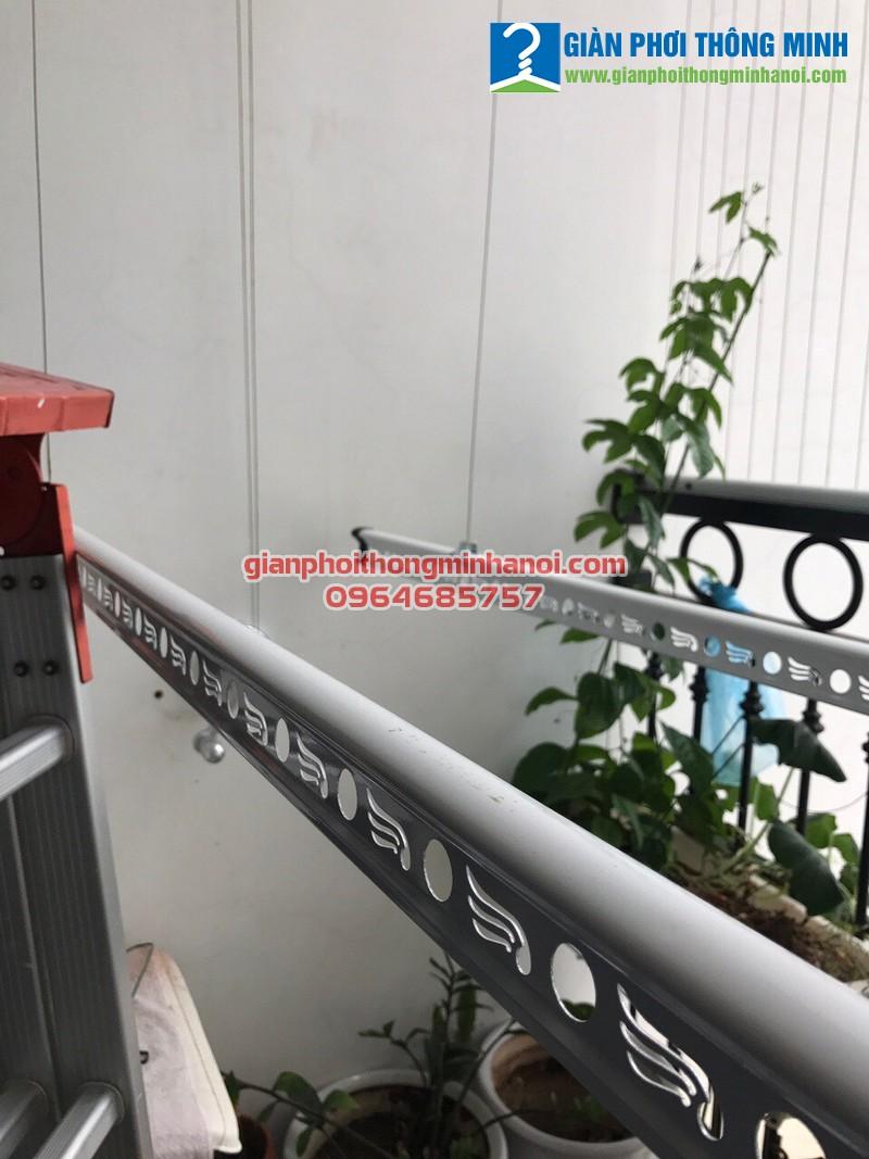 Lắp giàn phơi thông minh Hoà Phát Air cho nhà cô Hân, P2907, T2 Times City